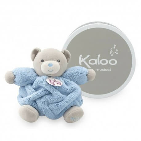 Kaloo Urso Musical Azul Plume
