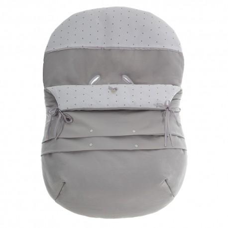 Forra p/ Babycoque Coton Cinza