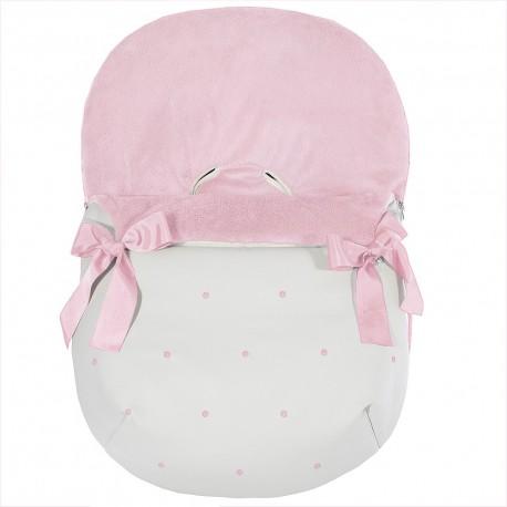 Forra p/ Babycoque Coton Rosa