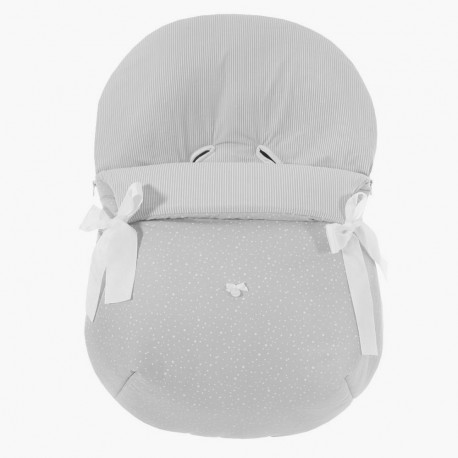Forra p/ Babycoque Pompo Cinza