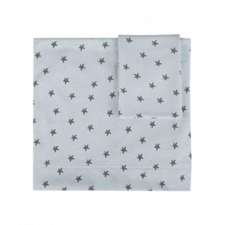 Lençóis Estampados Little Star Azul