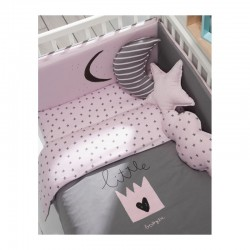 Conj. 3 Almofadas Decorativas Little Star Rosa