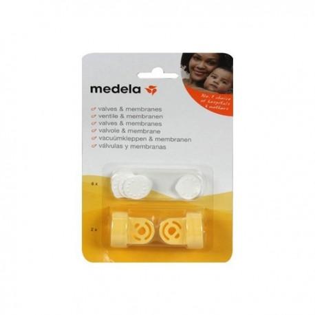 Pack Válvulas e Membranas