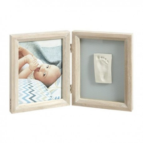 Baby Art Print Frame Wood