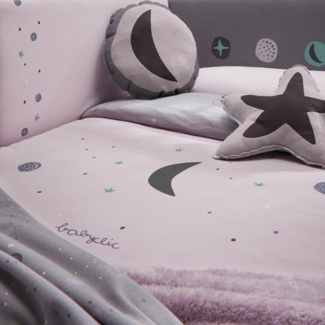 Conj. de Almofadas Decorativa Cosmos Lila