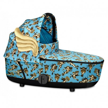 Cybex Alcofa Mios Cherubs Blue by Jeremy Scott
