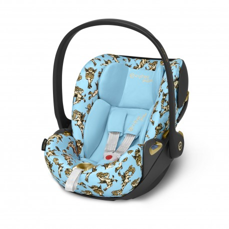 Cybex Cloud Z i-Size Cherubs Blue by Jeremy Scott