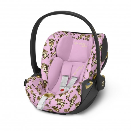 Cybex Cloud Z i-Size Cherubs Pink by Jeremy Scott