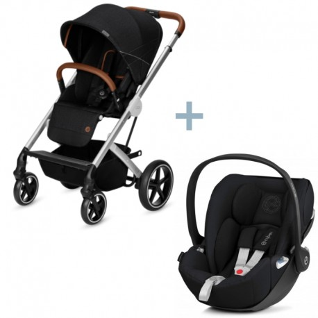 Cybex Balios S Denim Lavastone Back + Cloud Z Stardust Black