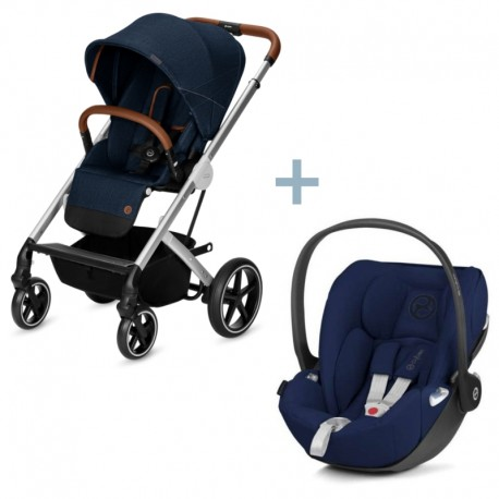 Cybex Balios S Denim Blue + Cloud Z Midnight Blue