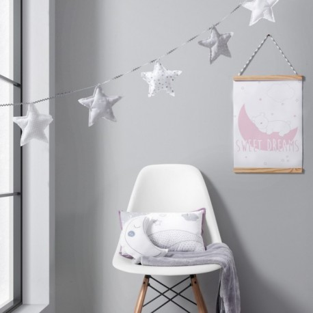 Quadro Decorativo Dream Rosa