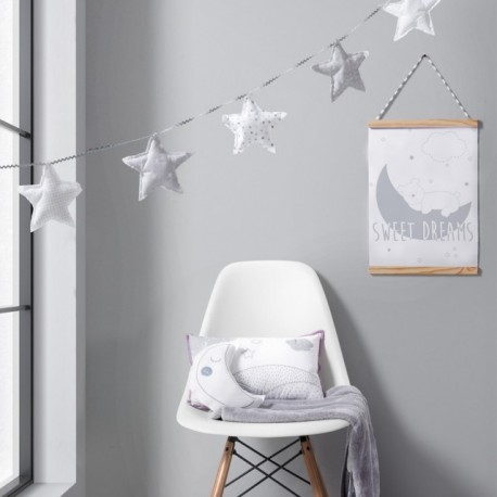 Quadro Decorativo Dream Cinza