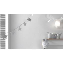 Grinalda Decorativa Dream Cinza