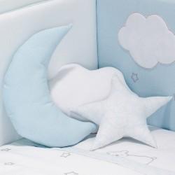 Conj. 3 Almofadas Decorativas Dream Azul