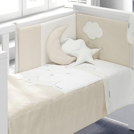 Colcha + Protetor Dream Bege