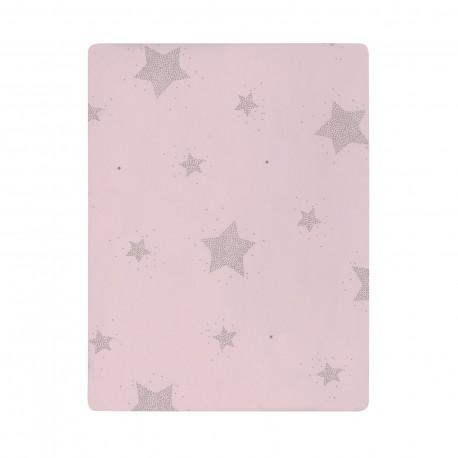 Colcha Mini Estrelas Rosa