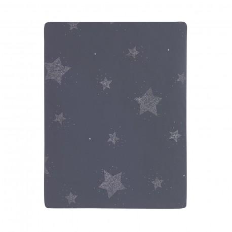 Colcha Mini Estrelas azul
