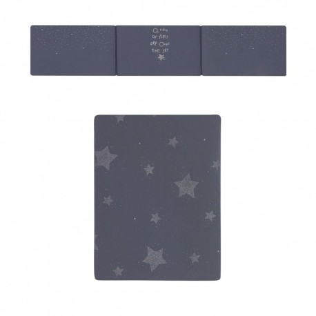 Colcha + Protetor Estrelas Azul