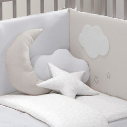 Conj. 3 Almofadas Decorativas Dream Bege
