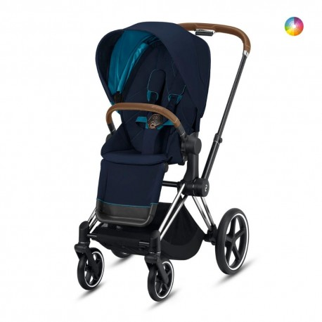Cybex Priam Chassi Chrome Brown