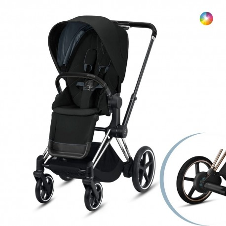 Cybex E-Priam 2020 Chrome Black