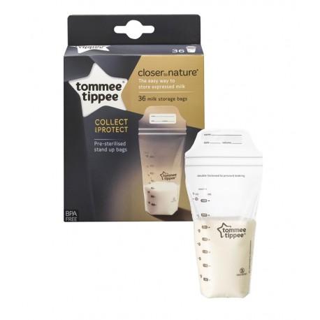 Bolsas para leite materno