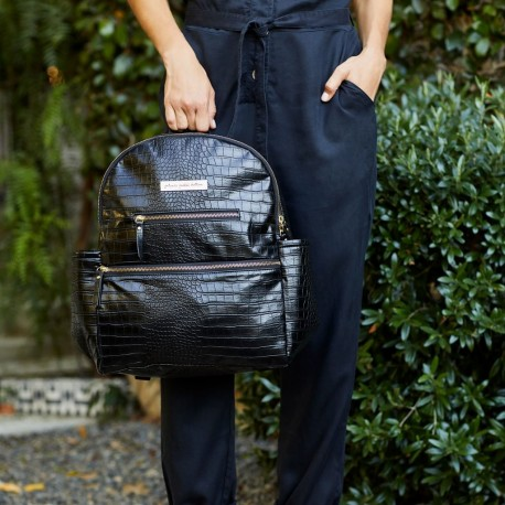 Ace Backpack - Croc Leatherette