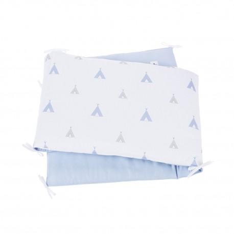 Protetor Berço Indiana Blu