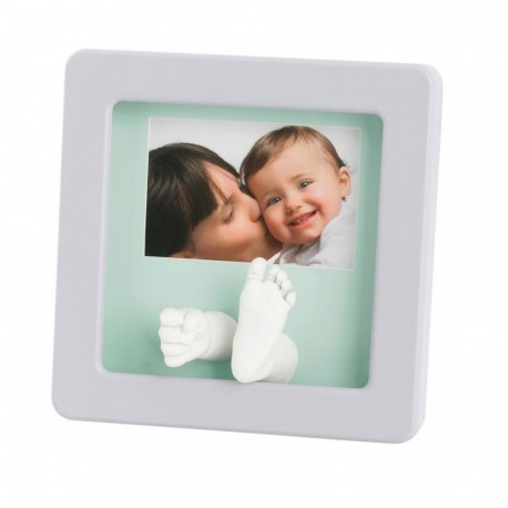 Baby Art Photo Sculpture Frame Wood