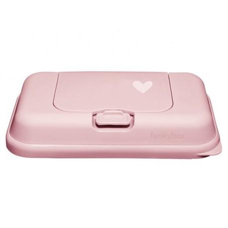 FunkyBox To Go Coração Rosa Pastel