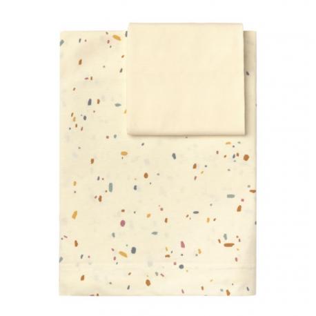 Baby Clic Lençóis Estampados Confetti Ivory