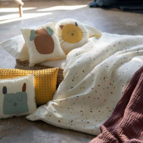 Baby Clic Conj. de Almofadas Decorativas Confetti Ivory