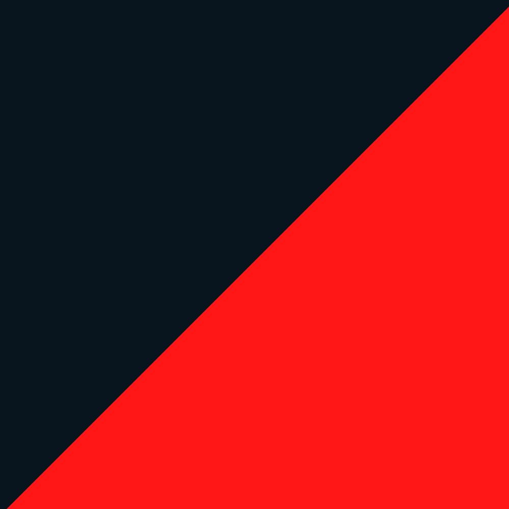 Preto / Vermelho