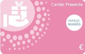 Cartão Presente Cor de rosa